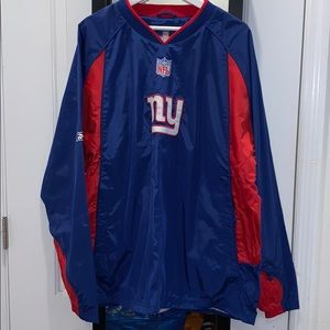 NFL New York Giants windbreaker